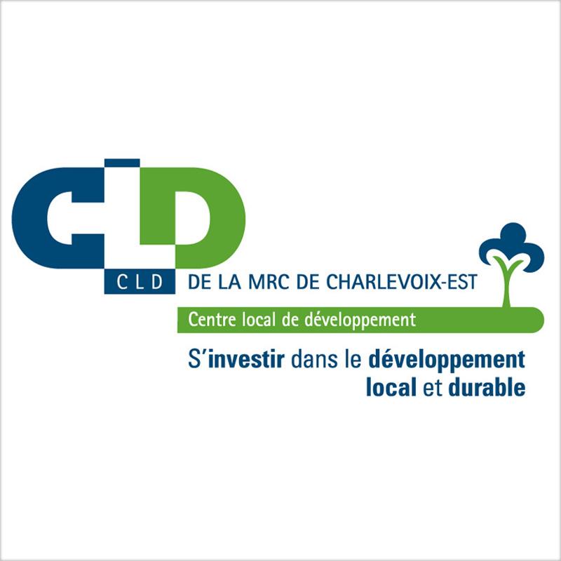 Logo du CLD Charlevoix-Est
