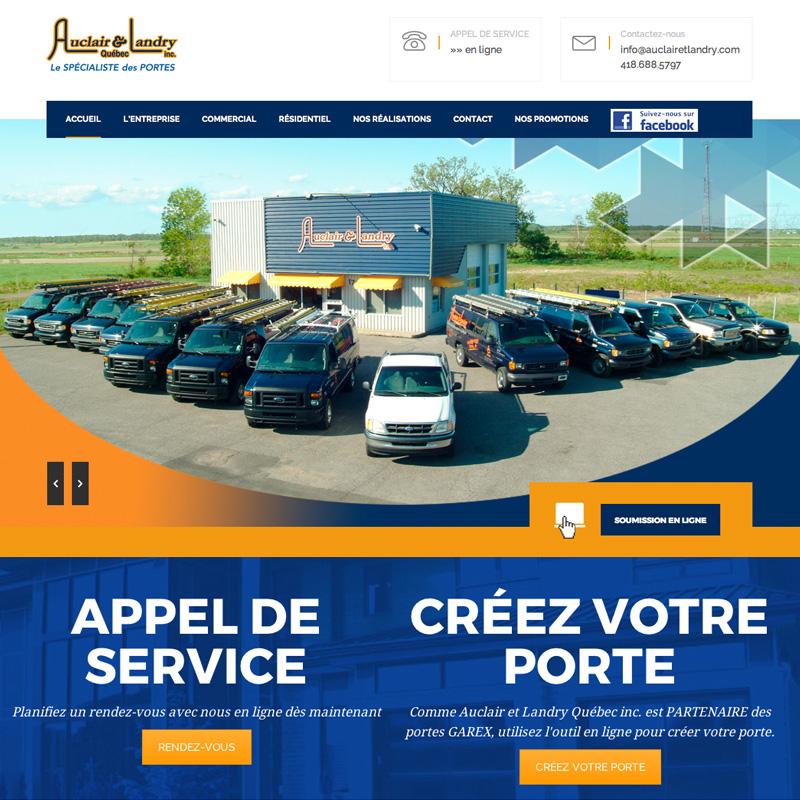 auclairetlandry.com