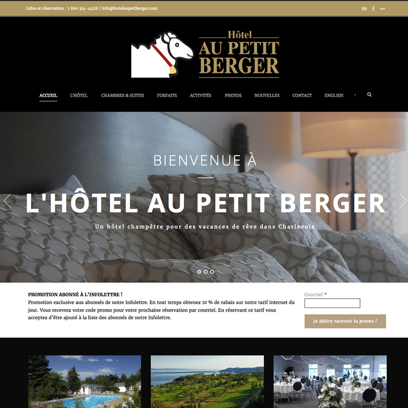 hotelaupetitberger.com
